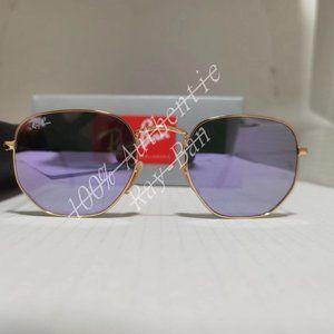 Ray-Ban Hexagonal 3548N 51MM Outdoor sunglasses